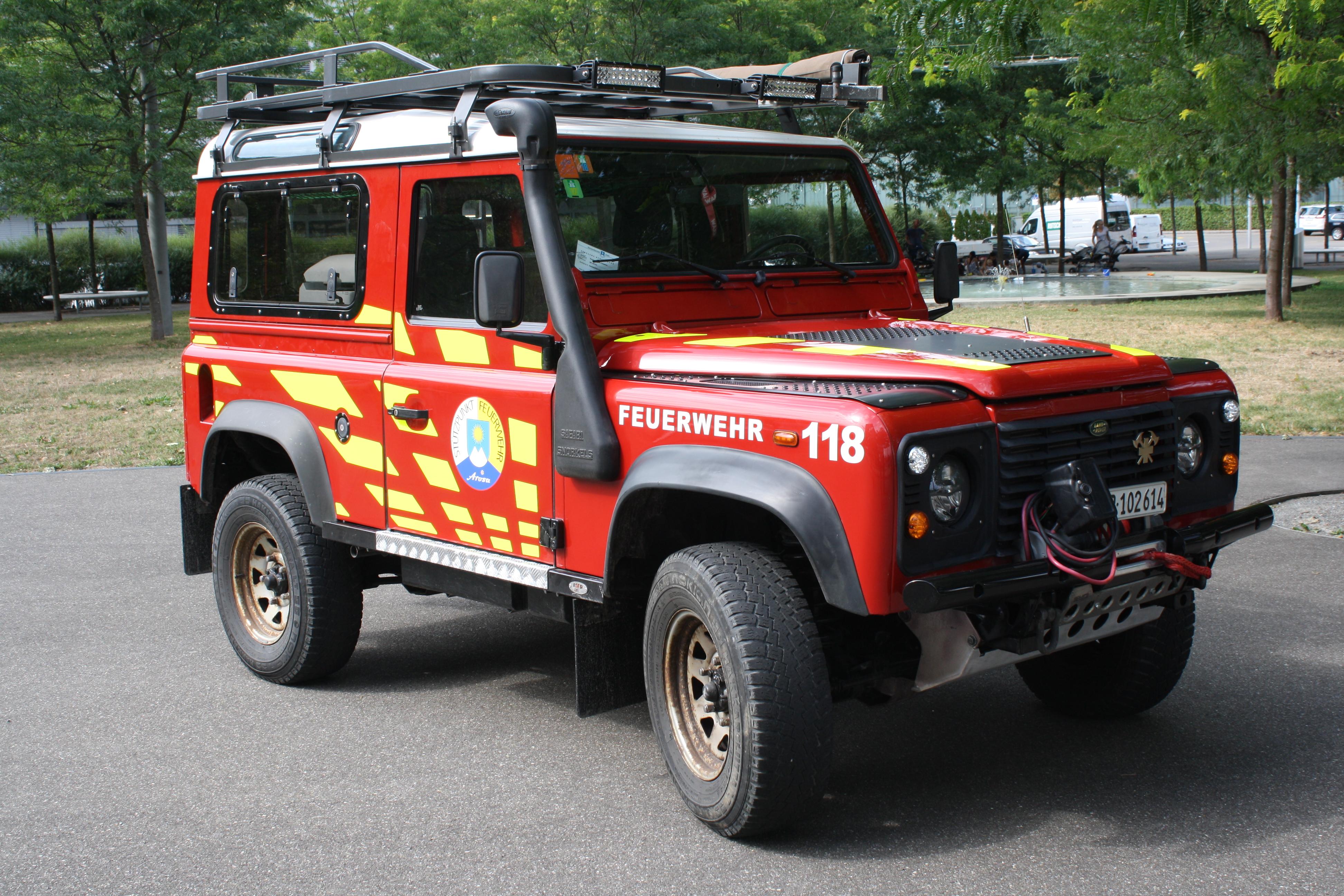 Feuerwehr Arosa